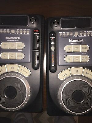 pair of numark axis 9 CD decks