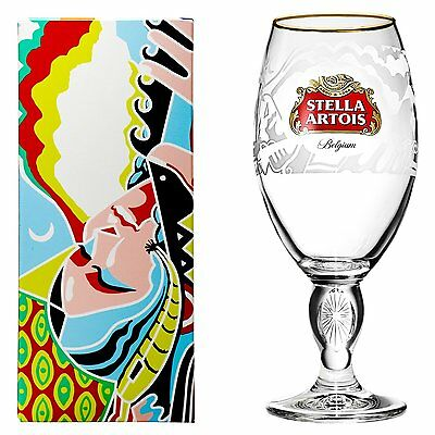 Stella Artois Buy a Lady a Drink Limited Edition Peru Chalice Beer Glass Goblet