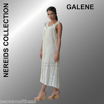 Nereids Collection - Galene White Dress - One size (Small to Extra Large)