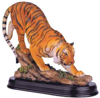 Bengal Tiger Collectible Wild Cat Animal Decoration Figurine Statue NEW