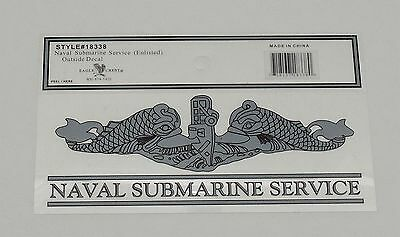Naval Submarine Service Enlisted Decal
