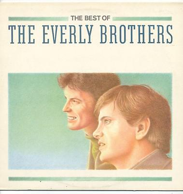 """Everly Brothers - The Best Of - 12"""" Vinyl Lp"""