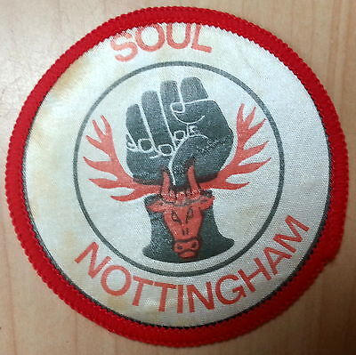 Northern Soul Sew On Patch 1960's Vintage New Old Stock 7cm Keep The Faith A6