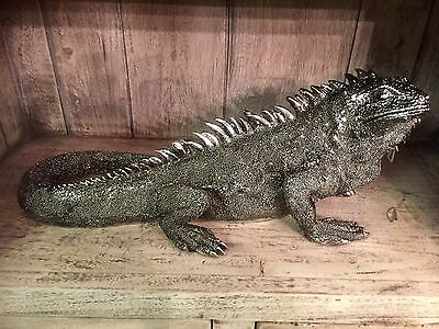 Large Lizard Figurine