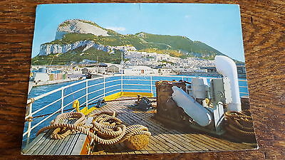 Gibraltar - Rock of Gibraltar from the Bay Postcard B24