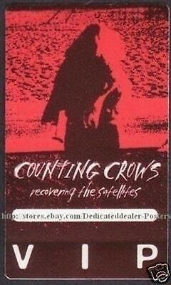 COUNTING CROWS backstage pass Tour Satin Cloth VIP