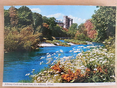 Kilkenny Castle and River Nore Ireland Postcard D29