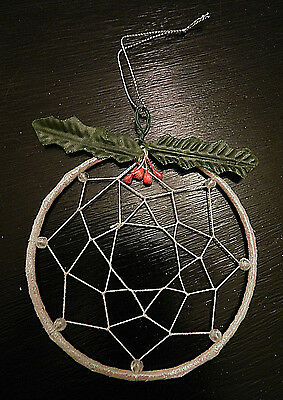 -New- DREAM CATCHER - Winter Nature Beads Craft Holiday Gift NEW IN PACKAGING