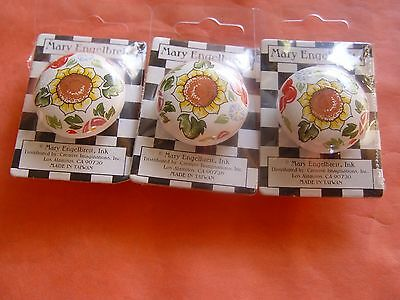G. New Mary Englbreit Decorative Collectible Door Knobs