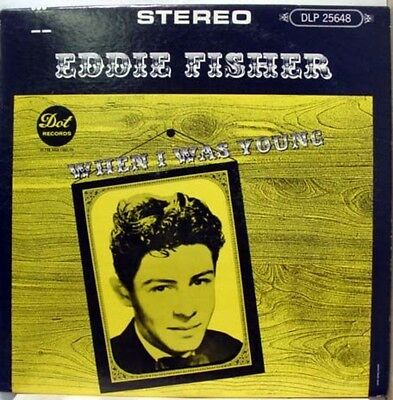Eddie Fisher When I Was Young NEAR MINT DOT Vinyl LP