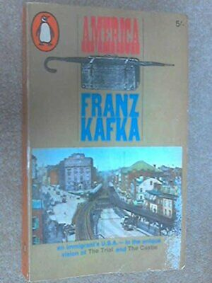 America, FRANZ KAFKA Paperback Book The Cheap Fast Free Post
