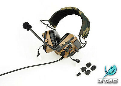 ZTAC / Z-Tactical Z038 COMTAC IV Style Headset w/ Noise Cancellation - TAN