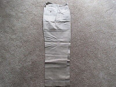 Vintage U.S. Army Trousers - 1950's - Khaki- Button Fly-Estate