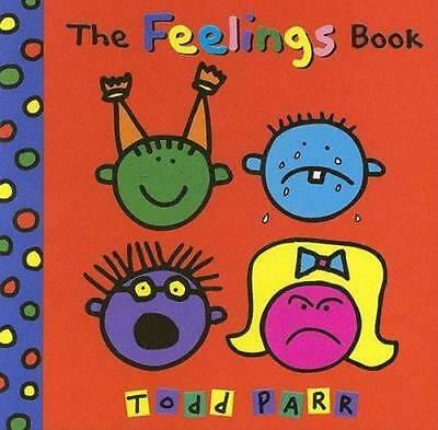 NEW The Feelings Book By Todd Parr Board Book Free Shipping
