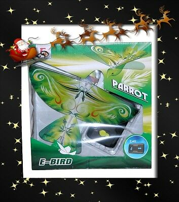 New Remote Control Flying Parrot E-Bird / Life Like Flapping Wings