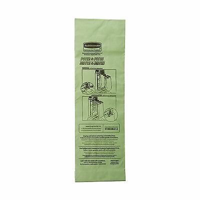 Rubbermaid Commercial FG9VMHBA12 Replacement Paper Bag for Upright Vacuum Cle...