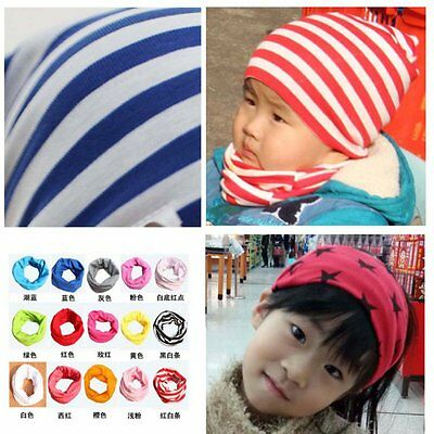 Winter Boys Girls Cotton Scarf Neckerchief Baby Toddler Warm Neck Shawl Scarves
