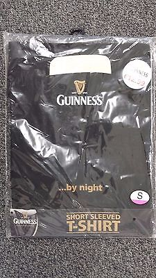 Guinness By Night T-Shirt - BNWT - Size Small - Free P&P