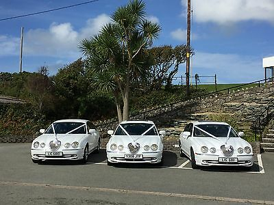 Wedding Car Hire, North Wales, 3 cars, Dates for 2017.