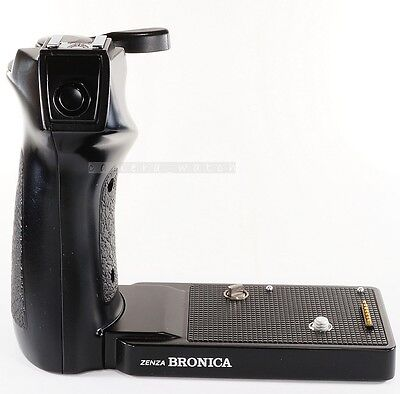 Used Zenza BRONICA Speed Grip G For GS GS-1 / Hand Winder & Flash Holder