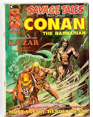 SAVAGE TALES (Featuring Conan The Barbarian)  #5 (JIM STARLIN ART)