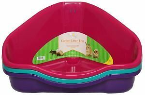 Harrison's Small Animal, Cat Corner Litter Tray 49cm Ideal for Cats, Degus, Ferr