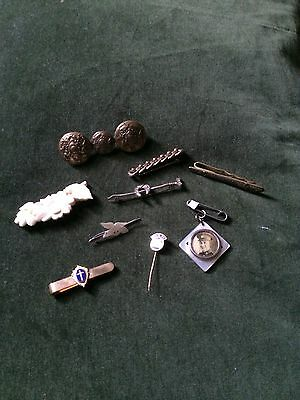 Lot Of Brooches