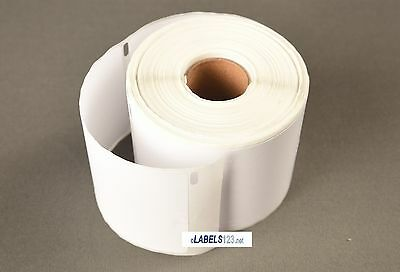 30 Rolls White Paper Mailing Labels Compatible w/ Dymo® LabelWriters Turbo 30857