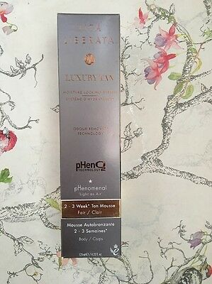 Vita Liberata PHenomenal 2-3 Week Tan Long Lasting Tan Mousse Fair 125ml BNIB