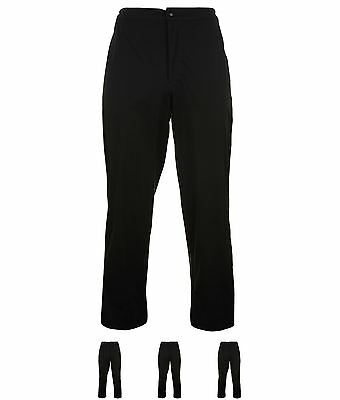 SALDI Ashworth Performance Waterproof Golf Pants Mens Black