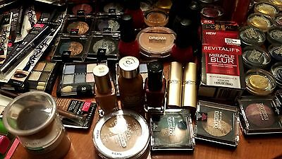 PrimeTime Makeup Mix Lot (100)pcs - NYX, Revlon, L'Oreal, CoverGirl, Maybelline