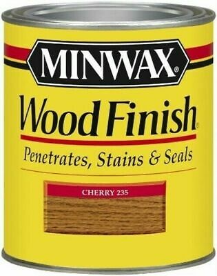 Minwax 22350 Cherry Interior Oil Based Wood Finish Stain