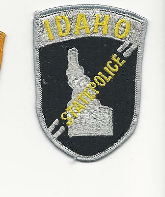 Idaho State Police  Id - cloth back (old or repro?)