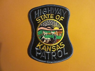 Collectible KansasHighway Patrol Patch New