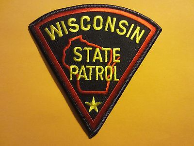 Collectible Wisconsin State Patrol Patch New