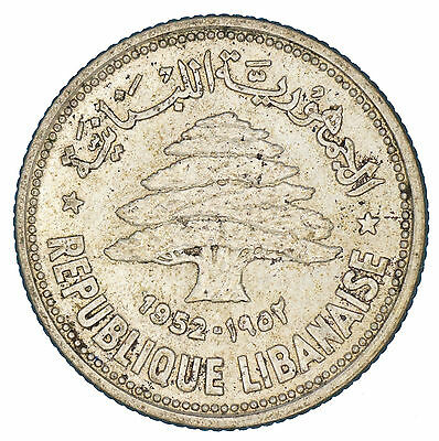Lebanon - 50 Piasters - 1952 - Extremely Fine