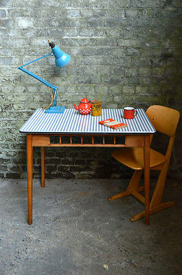 Vintage Mid Century Kandya Formica Table Dining Kitchen
