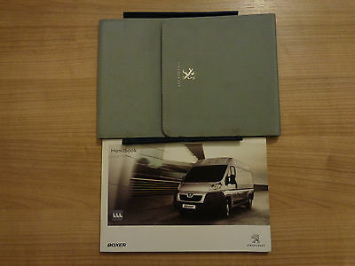 Peugeot Boxer Owners Handbook/Manual and Wallet 11-14