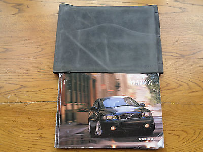 Volvo S60 Owners Handbook/Manual and Wallet 00-04