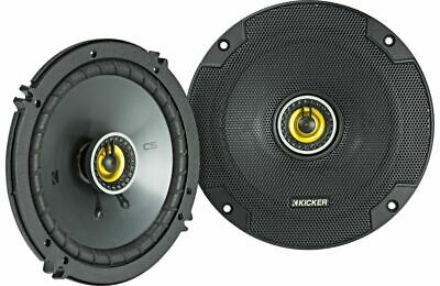 "KICKER 600W 6.5"" CS Series 2-Way Coaxial Car Stereo Speakers 