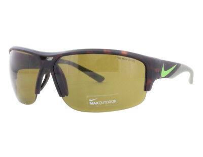 9673e16028 NEW Nike EV0870 207 Golf X2 Matte Tortoise Flash Lime   Max Outdoor  Sunglasses