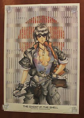 1993 1000 Editions MASAMUNE SHIROW limited Spanish poster USED HQ 98 x 68 cm. #2