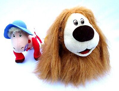 The Magic Roundabout Dougal Plush Bag & Ermintrude Soft Toy