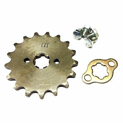 Dirt Bike, New #420 Chain Front Pinion Sprocket With 12 Teeth 14Mm For Atv