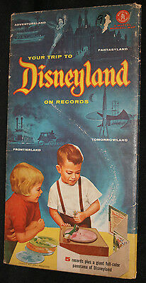 Your Trip to Disneyland on Records - Mattel (Mint In Package and VG/F) 1955