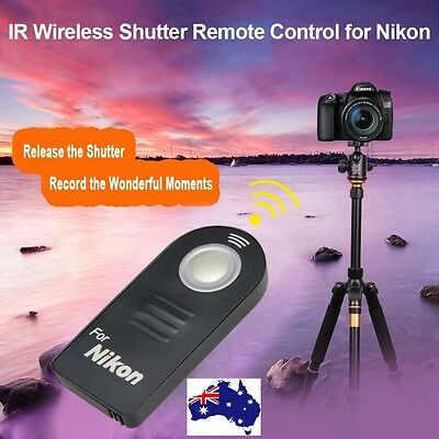 ML-L3 IR Wireless Infrared Shutter Release Remote Control for Nikon DSLR Camera