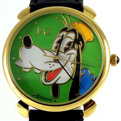 Goofy By Seiko Jaz, New Disney Collectable Watch Gold Color, Rare Find! Only $75