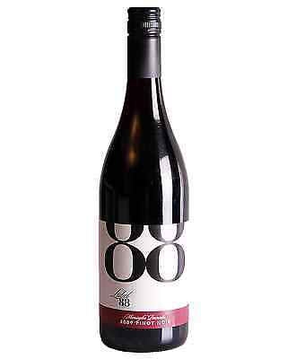 Label 88  Pinot Noir 2015 case of 6 Dry Red Wine 750mL