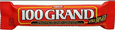 4 x 100 Grand Chocolate bars 42.5g USA