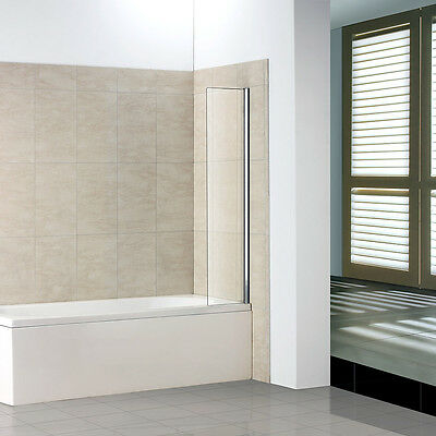 250 300 350 Fixed Bath Shower Screen Over Bath Square Cut Nextday Delivery